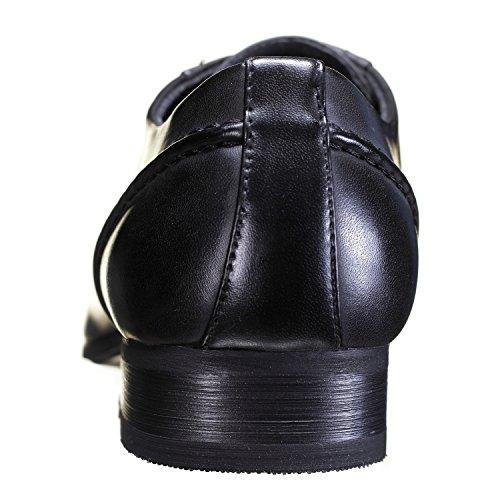 Reservoir Shoes - Chaussure Derbies Kim Black Noir