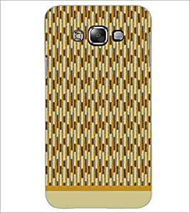 PrintDhaba Pattern D-1571 Back Case Cover for SAMSUNG GALAXY E7 (Multi-Coloured)