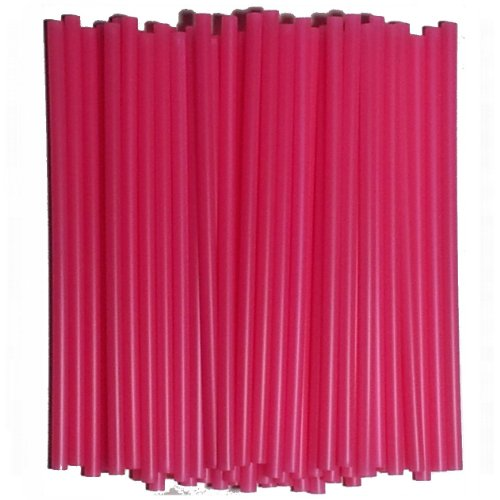 Lollipop Sticks 11,5 x 0,4 cm - 50 Stück (rosa/pink) (Prinzessin Lollipop)