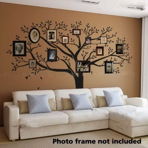 LUCKKYY®Giant Family Photo Tree Wall Decor Wall Sticker Vinyl Art Home Decals  Room Decor Mural Branch Wall Decal Stickers Living Room Bed Baby Room Part 87