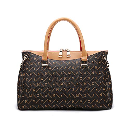 Fyyzg Mode Handtaschen Fufeng Tasche Europa und den Vereinigten Staaten Mode Bulk Tot weiblich - braun