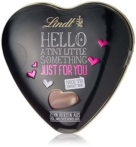 Lindt Hello Just For You Heart Tin 45 g (Pack of 2)