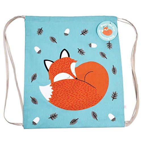 Bambini borsa con chiusura a cordoncino–scelta di design Crocodile Rusty The Fox