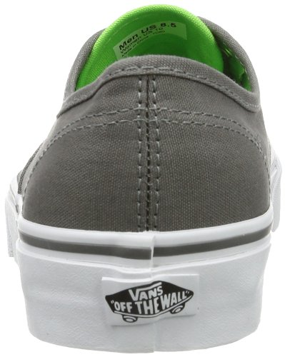 Vans U Authentic - Baskets Mode Mixte Adulte Gris - Grau (Pop Charcoal)