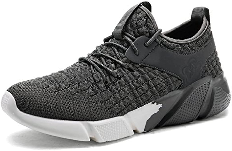 tqgold Sport Herren Laufschuhe Fitness Atmungsaktiv Gym Freizeit und Leichte Sportschuhe Sneaker