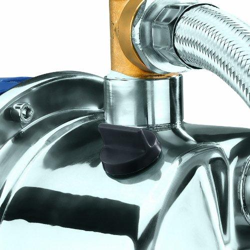 Einhell Hauswasserwerk BG-WW 1038 N (1000 W, 3800 l/h Fördermenge, 20 l Behälter, Edelstahlpumpengehäuse, Manometer) - 5