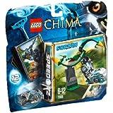 Lego Legends of Chima - Speedorz - 70109 - Jeu de Construction - Le Tourbillon Infernal