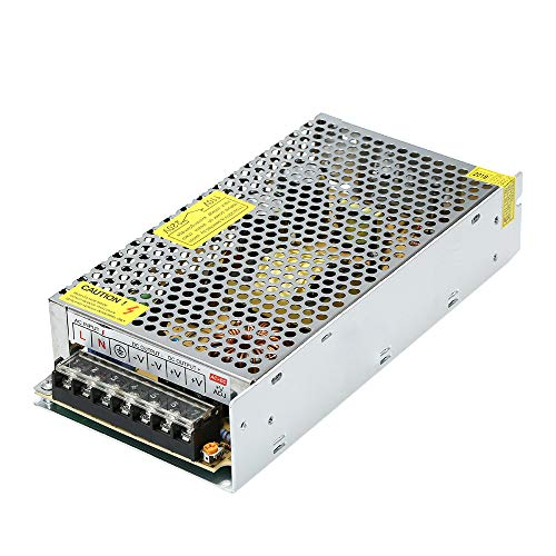KKmoon Netzteil Adapter Stromrichter AC 110V / 220V zu DC 24V 10A 120W LED Streifen Lampe Schaltwandler Konverter Treiber -