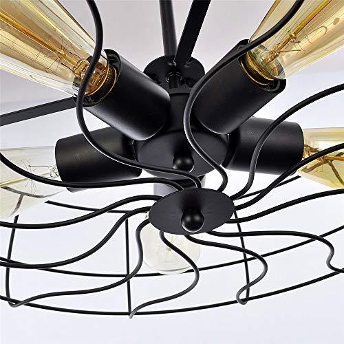 Tintin Iluminación de techo,lámparas de metal de montaje semi empotrado de 5...