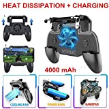 XuBa Mobile Phone Game Controller Joystick Cooling Fan Gamepad for Android iOS