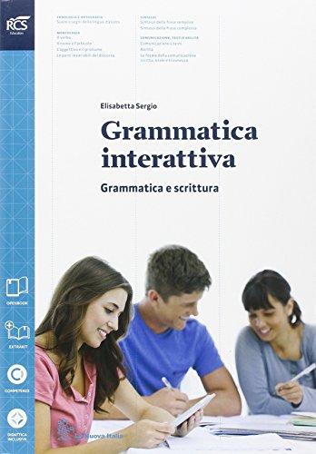 Grammatica interattiva. Grammatica-Lessico. Con prova INVALSI. Per le Scuole superiori. Con espansione online