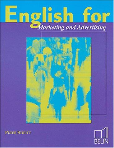 English for marketing and  communication, élève