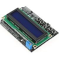 Akozon Módulo pantalla LCD LCD1602 Serial LCD Display Module para Uno R3 Mega 2560 16x2 Characters Display Screen Módulo de matriz de puntos para Raspberry Pi