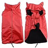 Bello Luna Giacca impermeabile dell'animale domestico della tuta sportiva dell'abito di inverno Cappotto multifunzionale del cane