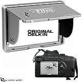 """Das ORIGINAL von DELKIN 2"""" LCD Pop-Up-Shade Sonnenblende bzw. Display Schutz für viele Digitalkameras. ELKIN Pop Up Shade LCD Blende f. 2.0"""" Kameradisplays Silber"""