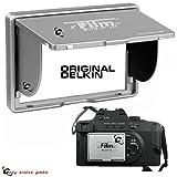 Das ORIGINAL von DELKIN 2' LCD Pop-Up-Shade Sonnenblende bzw. Display Schutz für viele Digitalkameras. ELKIN Pop Up Shade LCD Blende f. 2.0' Kameradisplays Silber