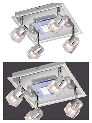 lampara-de-techo-4-focos-con-tarjeta-de-iluminacion-led-spot-lampara-de-techo-moviles-focos-foco-pis