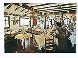 Tossa del Mar, Costa Brava, Restaurante-Bar Castell Vell, Spanien, AK, ungelaufen