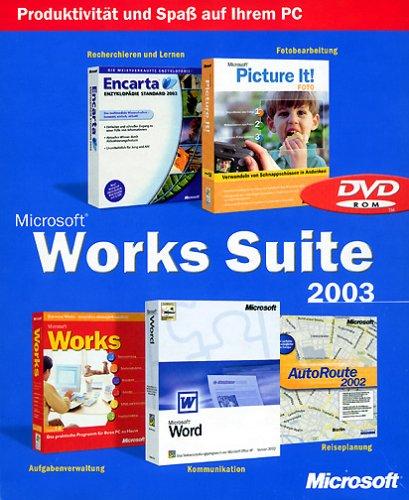 Microsoft Works Suite 2003 DVD Upgrade