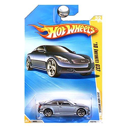 Hot Wheels 2010, '10 Infiniti G37 032/240, '10 New Models. 1:64 Scale. (Infiniti Wheels Hot)