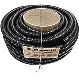 Tricoflex 01112010léger flexible de bassin en PVC, intérieur noir 20mm 30m