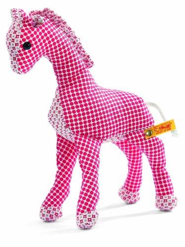 Steiff 235948 - Bendy Giraffe 20 cm, rot