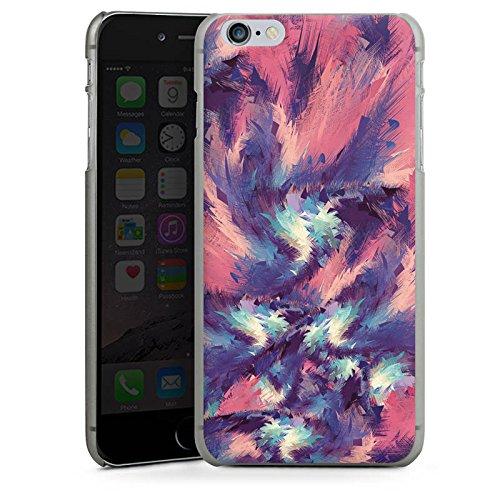 Apple iPhone X Silikon Hülle Case Schutzhülle Farben Muster Colorful Energy Hard Case anthrazit-klar