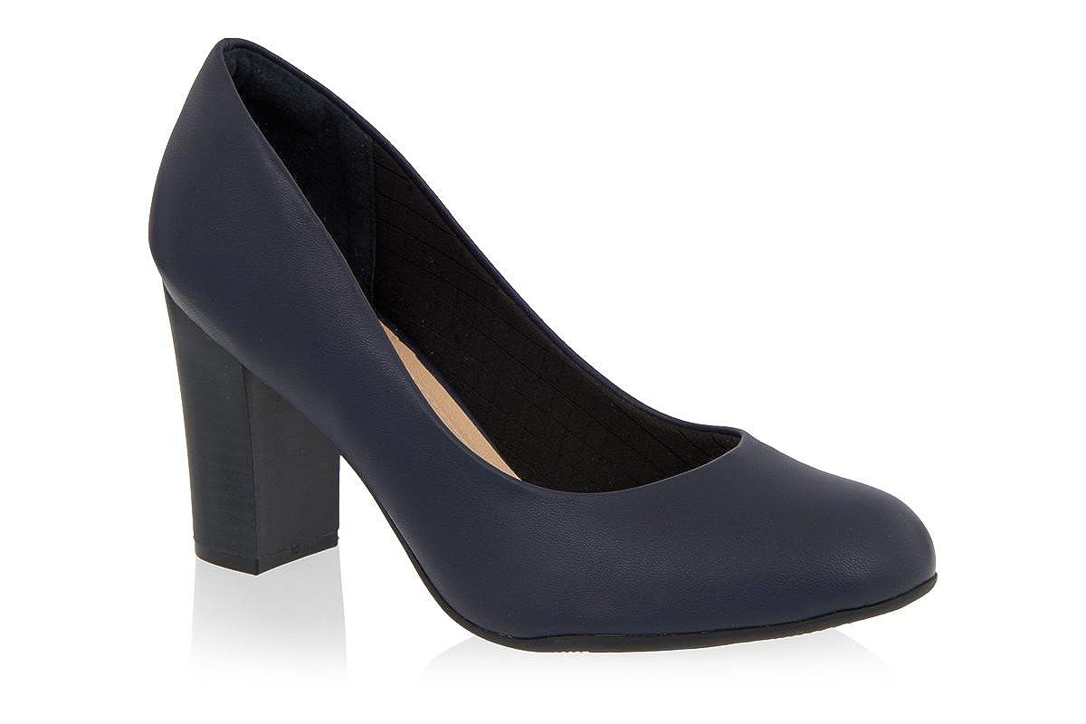Dark Navy Blue High Heels