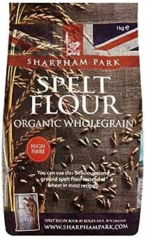1kg Sharpham Parque Orgánica Grano entero Harina de espelta