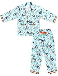 ShopMozo Multicolor Cotton Printed Boys Night Suit (Boys Night Dress)