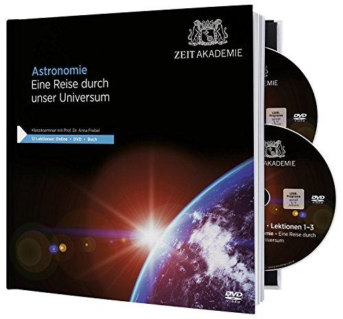Preisvergleich Produktbild Astronomie – DVD-Seminar inkl. Begleitbuch und Onlinezugang