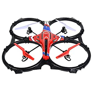 FDS Large Syma X6 4 Axis 4H Quadcopter Drone UFO Helicopter Remote Control W/LED lights 2.4GHZ RC