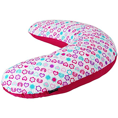 isafe-mini-nusing-maternity-pillow-love-bug-vacuum-storage-bag-pillow-case