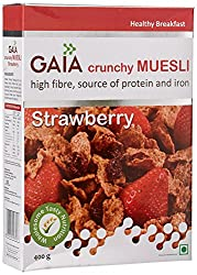 Gaia Strawberry Muesli, 400G