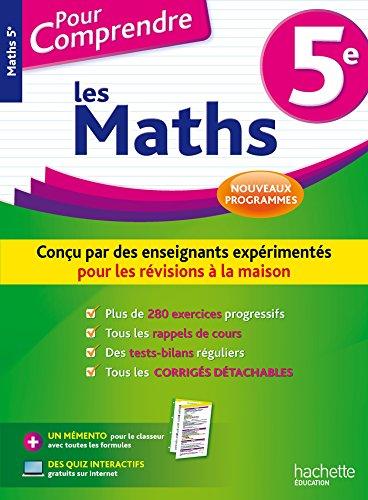 Pour Comprendre Maths 5e - Nouveau programme 2016