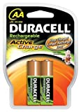 Duracell Akku Active Charge Mignon AA (HR6) 1,2V 2.000 mAh im 2er Pack