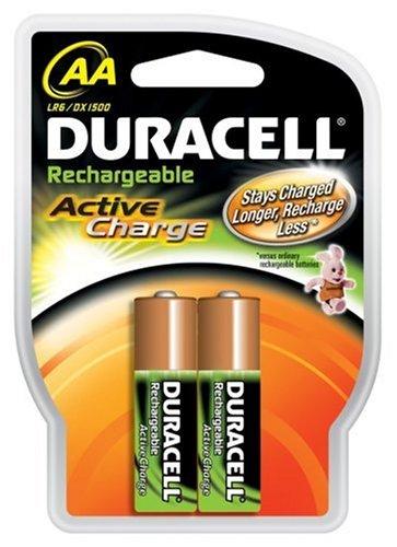 Duracell Akku Active Charge Mignon AA (HR6) 1,2V 2.000 mAh im 2er Pack (Energizer Akku-ladegerät 9v)