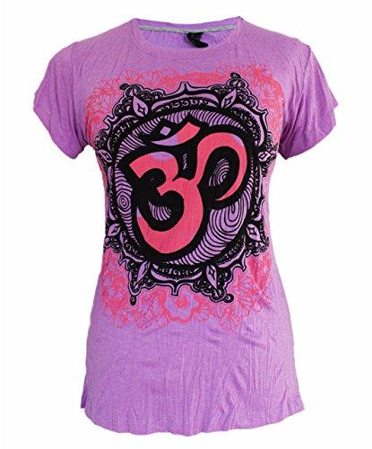 Yoga Shirts Ganesha T-Shirt für Damen' Ganesh Hindu Elefant Gott Om Namaste Top
