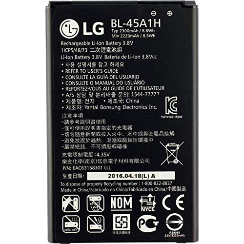 Original LG Batería De Ion Litio 45A1H 2300MAh