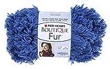 Coats Yarn Red Heart Boutique Fur Yarn, Cobalt