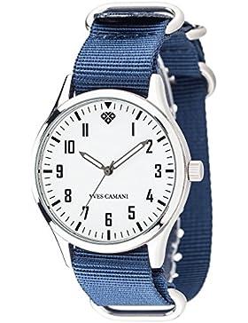 Yves Camani Unisex-Armbanduhr Un