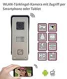 WLAN Türsprechanlage mit Zugriff per Smartphone oder Tablet (Android, iOS)