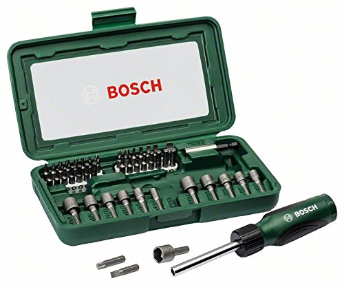 Bosch 46 Piece Screwdriver Set (Black and Silver)