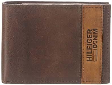 Hilfiger Denim CODY CC FLAP & COIN POCKET EK56920964, Herren Geldbörsen, Braun (DARK BROWN 201), 14x10x2 cm (B x H x T)