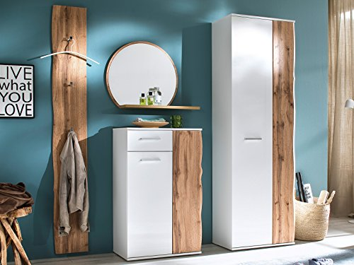 möbelando Garderobe Kompaktgarderobe Garderobenset Garderobenprogramm Flur Gandia II