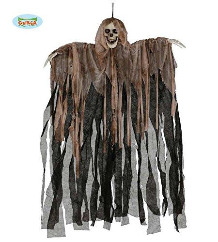 Fiestas Guirca GUI19725 - Skelett-Aufhänger, 90 cm (Guter Kerl Kostüme Für Halloween)