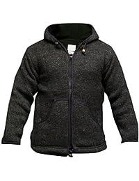Colores Fashion con forro Shopoholc Plain alfombrilla para ratón con tejido de punto chaqueta con capucha para polar/Jersey