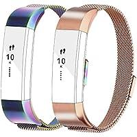 Für Fitbit Alta und Alta HR Armbänder, Milanese Edelstahl Metall Armband für Fitbit Alta HR und Fitbit Alta