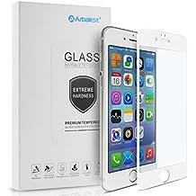 iPhone 6s Protector de Pantalla, Arbalest® [Anti Blu Ray] 0.26mm 3D Pantalla Completa Cristal Templado Pantalla protectora,cubre la pantalla completa perfectamente para iPhone 6s/iPhone 6 4.7, Blanco
