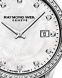 Raymond Weil Freelancer Damen-Armbanduhr, 67 Diamanten, Perlmutt, 29 mm